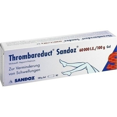 Thrombareduct® Sandoz® 60 000 I.E./100g Gel