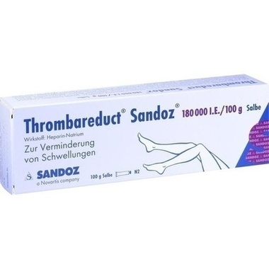 Thrombareduct® Sandoz® 180 000 I.E./100g Salbe