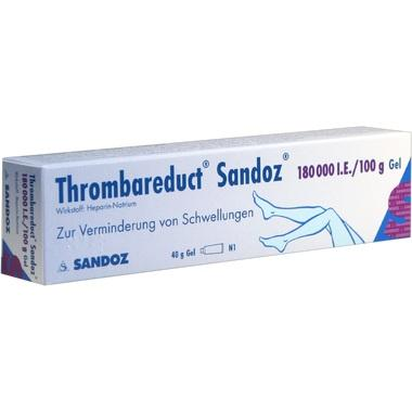 Thrombareduct® Sandoz® 180 000 I.E./100g Gel