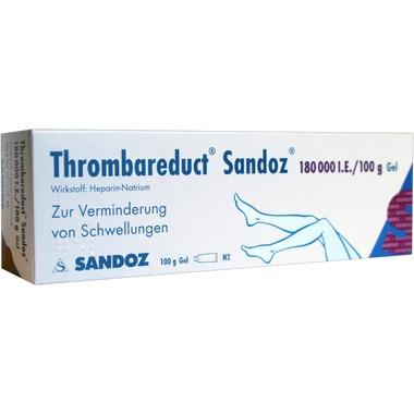 Thrombareduct® Sandoz® 180 000 I.E./100g Gel