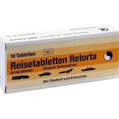 Reisetabletten Retorta Tbl.
