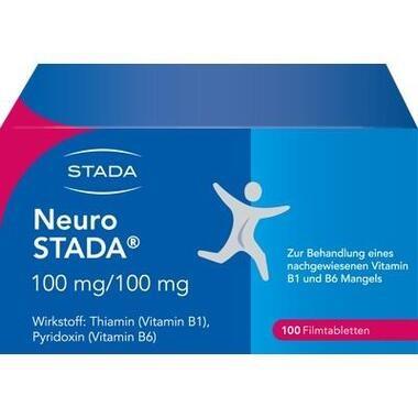Neuro STADA 100mg/100mg Filmtabletten