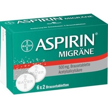 Aspirin® Migräne, Brausetabl.