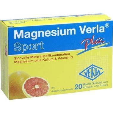 Magnesium Verla® plus, Granulat