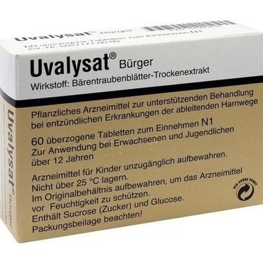 Uvalysat® Bürger überzogene Tablette