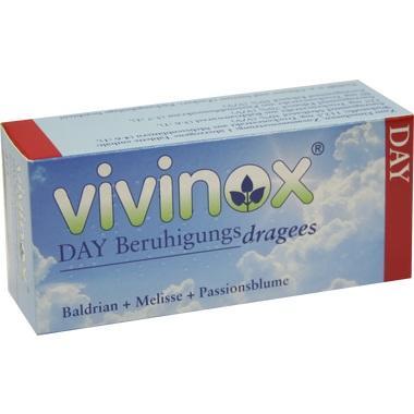 Vivinox® Day Beruhigungsdragees Baldrian+Melisse+Passionsblume