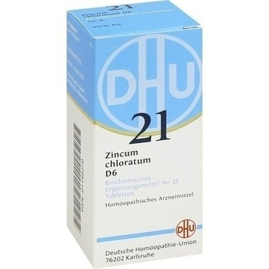Biochemie 21 Zincum chloratum D6 DHU Tbl.