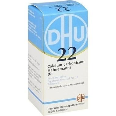 Biochemie 22 Calcium carbonicum D6 DHU Tbl.