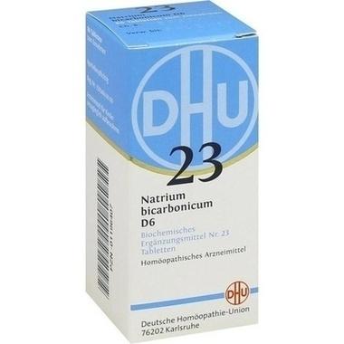 Biochemie 23 Natrium bicarbonicum D6 DHU Tbl.