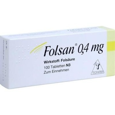 Folsan® 0,4 mg Tabletten