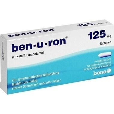 ben-u-ron® 125mg Zäpfchen