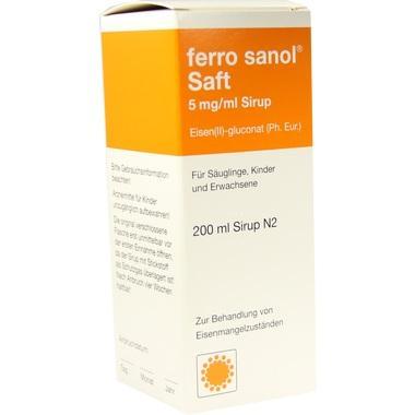 ferro sanol® Saft 5 mg/ml Sirup