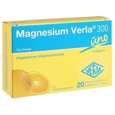 Magnesium Verla® 300 uno Orange, Granulat