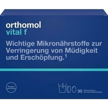 Orthomol Vital f® Granulat Orange + Kapseln