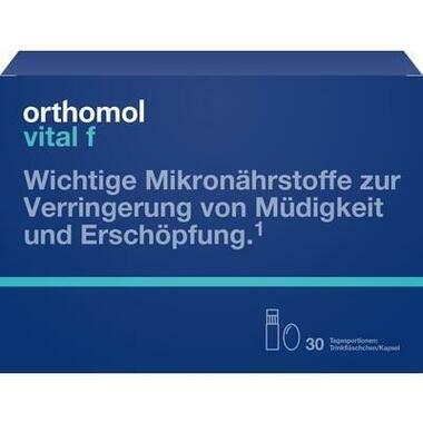 Orthomol Vital f® Trinkfläschchen + Kapseln