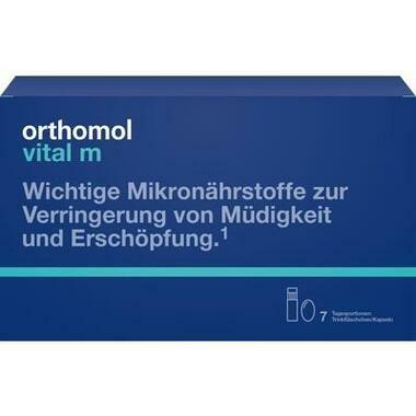 Orthomol Vital m® Trinkfläschchen + Kapseln