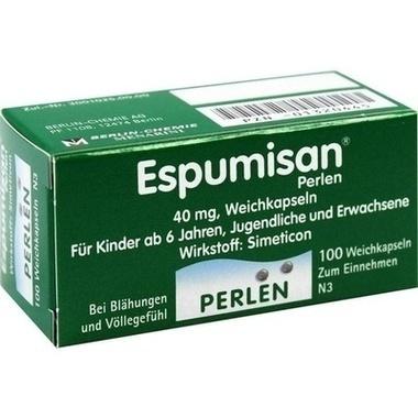 Espumisan® Perlen, 40 mg, Weichkapseln