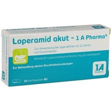 Loperamid akut - 1 A Pharma®, Hartkps.