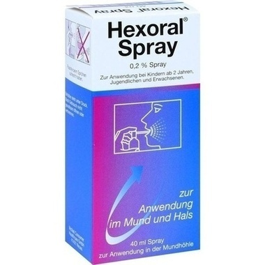 Hexoral® Spray, 0,2 % Spray