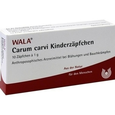 Carum Carvi Wala Kinderzäpfchen