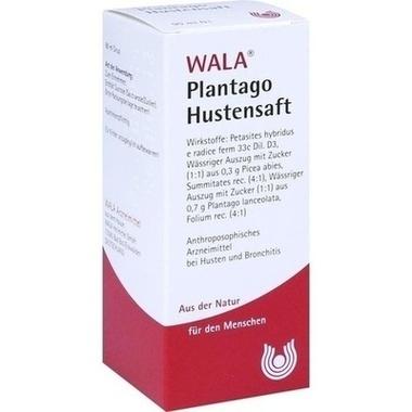 Plantago Hustensaft