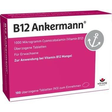 B<sub>12</sub> Ankermann® 1000µg überz. Tabl.