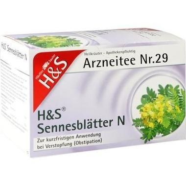 H&S Sennesblätter N Filterbtl.