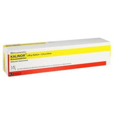 KALINOR® 1,56g Kalium/2,5g Citrat Brausetabletten