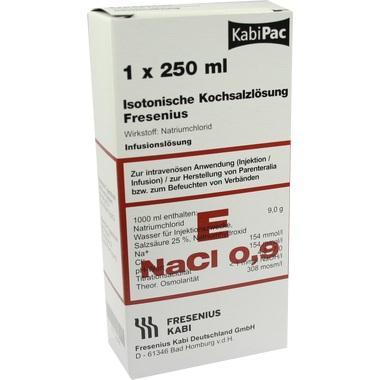 Isotonische Kochsalzlösung Fresenius 0,9% Plastikfl. 250ml