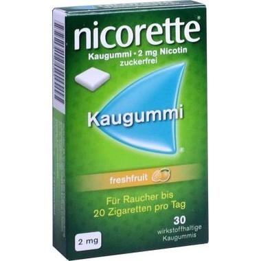 Nicorette® Kaugummi 2 mg freshfruit