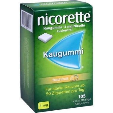 Nicorette® Kaugummi 4 mg freshfruit