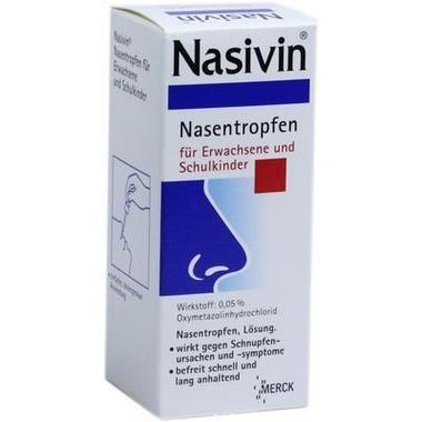 Nasivin® Nasentropfen für Erwachsene und Schulkinder