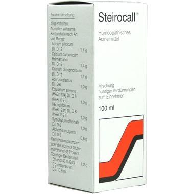 Steirocall® Mischung flüssiger Verdünnungen zum Einnehmen