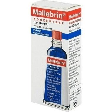 Mallebrin® Konzentrat zum Gurgeln 2,2 g/10 ml Lösung