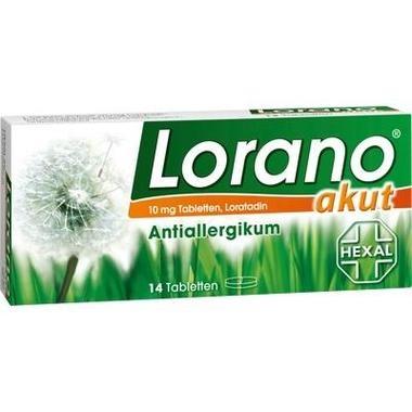 Lorano® akut, 10 mg Tbl.