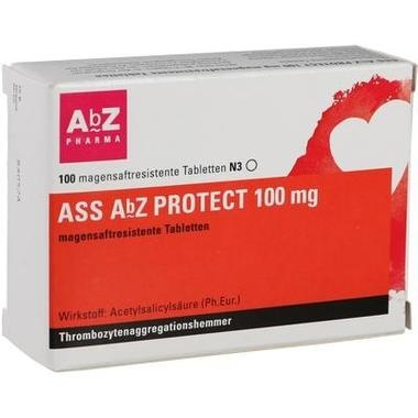 ASS AbZ PROTECT 100 mg magensaftresistente Tabletten
