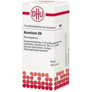 Aconitum D6 DHU Globuli