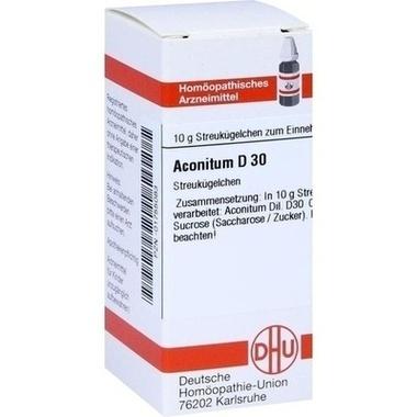 Aconitum D30 DHU Globuli