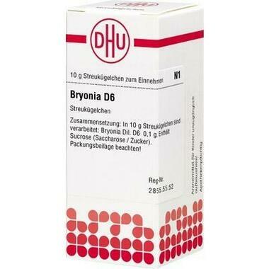 Bryonia D6 DHU Glob.