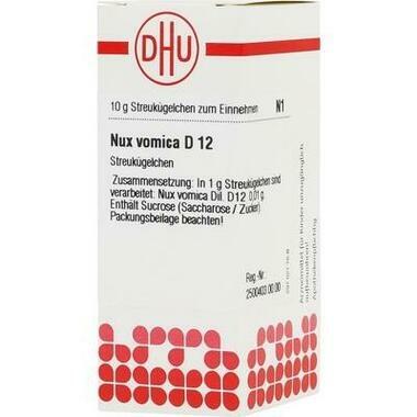 Nux vomica D12 DHU Glob.