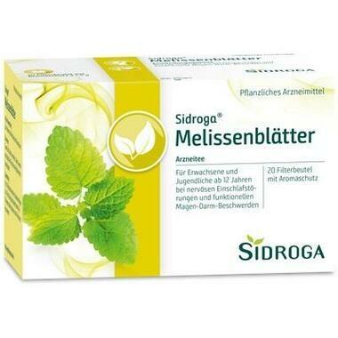 Sidroga Melissenblätter Tee Filterbeutel