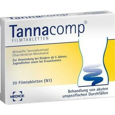 Tannacomp® 500 mg/50 mg Filmtabletten