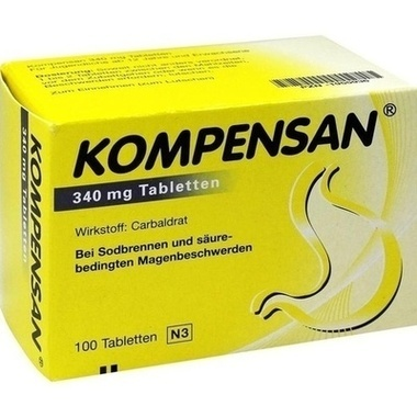 Kompensan®, 340 mg Tabletten