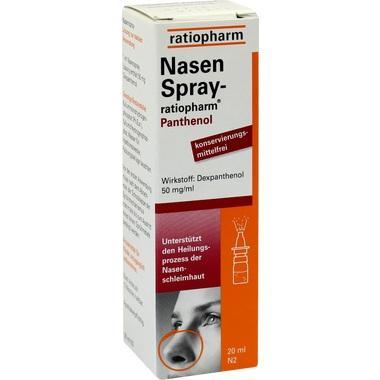 NasenSpray ratiopharm® Panthenol