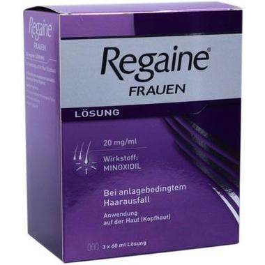 Regaine® Frauen, 20 mg/ml Lösung zur Anwendung auf der Haut (Kopfhaut)