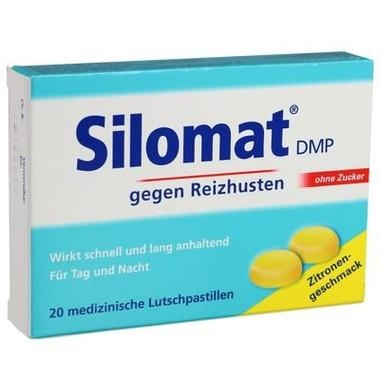Silomat DMP, 10,5 mg/Lutschpastille