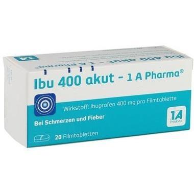 Ibu 400 akut - 1 A Pharma®, Filmtbl.
