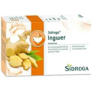 Sidroga Ingwer Tee Filterbeutel