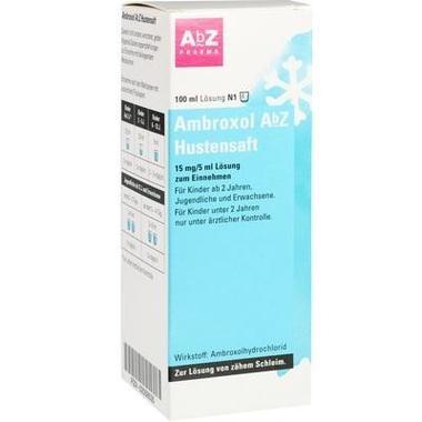 Ambroxol AbZ Hustensaft, 15 mg/5 ml Lösung zum Einnehmen