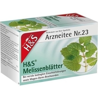H&S Melissentee Filterbeutel